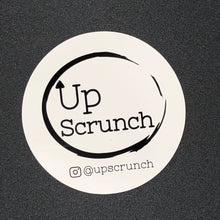 "Load image into Gallery viewer, 3"" Vinyl Up Scrunch Sticker"