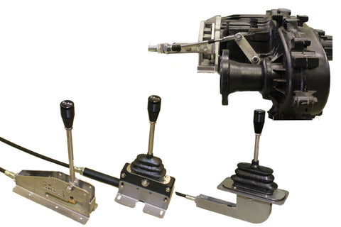 Single-Stick Cable Transfer Case Shifters