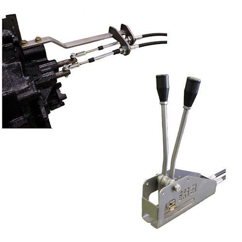 Cable Shifter Double Jeep Cj D20 Buggy Style P N Bugcj20