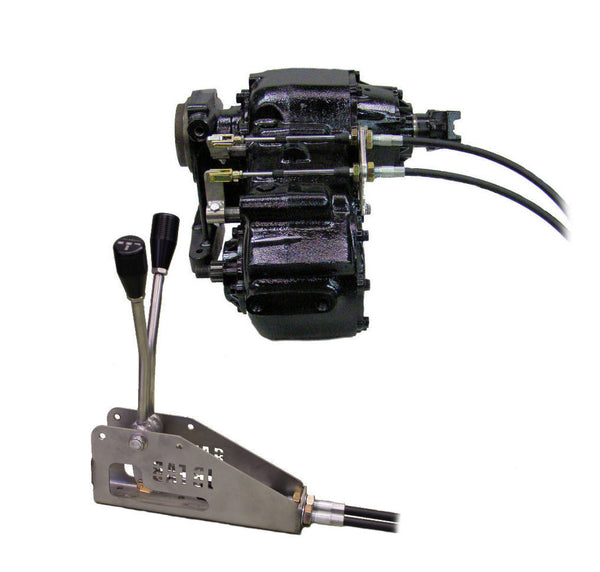 Cable shifter, Double, Ford NP-205 Buggy style P/N BUG205F ...
