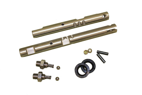 NP-205 Deluxe Shift-Rail Kit, Stainless Steel, Ford  P/N SR205F DKIT