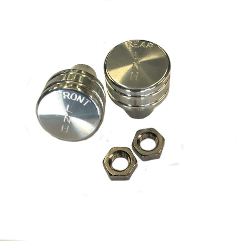 Knobs, Billet Aluminum Twin-stick Shifter P/N KBLT