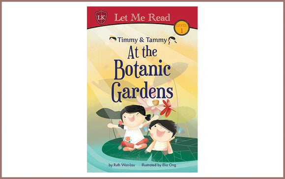 Colour Me Mats Book Collection - Timmy & Tammy At the Botanic Gardens