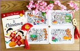 Timmy & Tammy X Colour Me Mats Book Bundle - Celebrating Lunar New Year - Reusable Silicone Colouring Mats