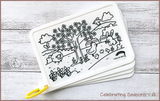 Colour Me Puzzle Mats - Celebrating Seasons - Reusable Silicone Colouring Mats