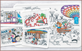 Colour Me Mats Book Collection - Timmy & Tammy At Gardens by the Bay