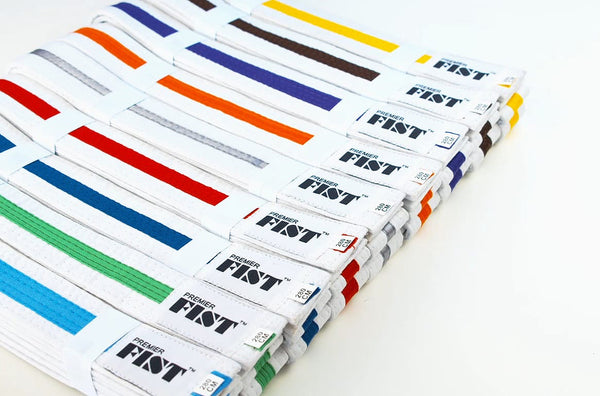Coloured Stripe Belts