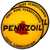 "Pennzoil 15"" Pair of Lenses"