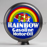 "Rainbow Gasoline 15"" Gas Pump Globe with Steel Body"