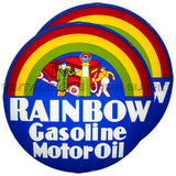 "Rainbow Gasoline 15"" Pair of Lenses"