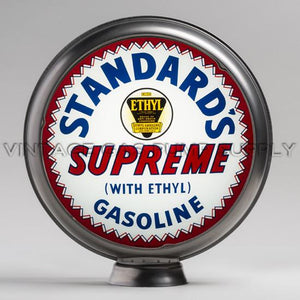 "Standard's Supreme 15"" Gas Pump Globe with Steel Body"