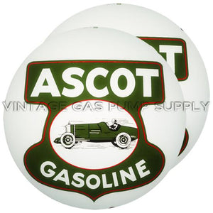 "Ascot 15"" Gas Pump Globe with Steel Body"