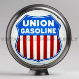 "Union Gasoline 15"" Gas Pump Globe with Steel Body"