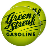 "Green Streak 15"" Pair of Lenses"