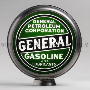 "General Petroleum 15"" Gas Pump Globe with Steel Body"