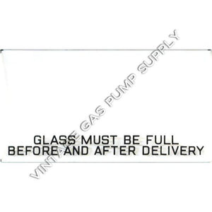 "Bowser ""Glass Must Be Full"" Ad Glass"