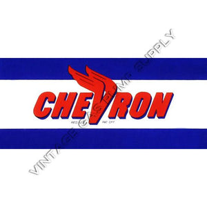 Chevron Flat Ad Glass