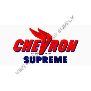 Chevron Supreme Flat Ad Glass