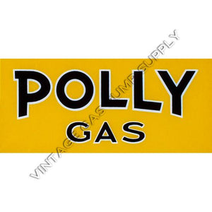 Polly Gas Flat Ad Glass