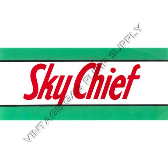 Sky Chief Flat Ad Glass