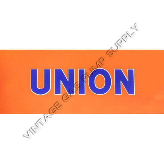 Union Flat Ad Glass
