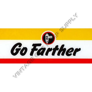Signal Go Farther Flat Ad Glass