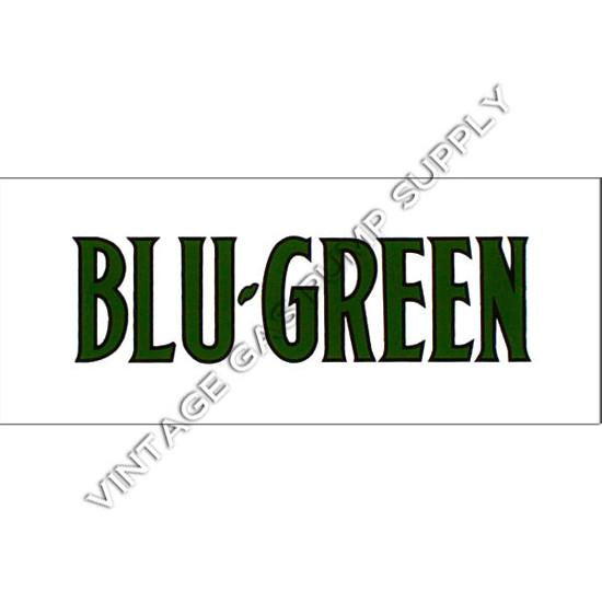 Gilmore Blu-Green Flat Ad Glass