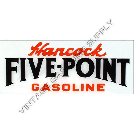 Hancock Five Point Flat Ad Glass