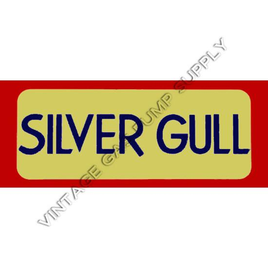 Silver Gull Flat Ad Glass