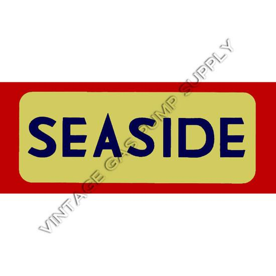 Seaside Ad Flat Glass