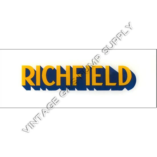 Richfield Flat Ad Glass