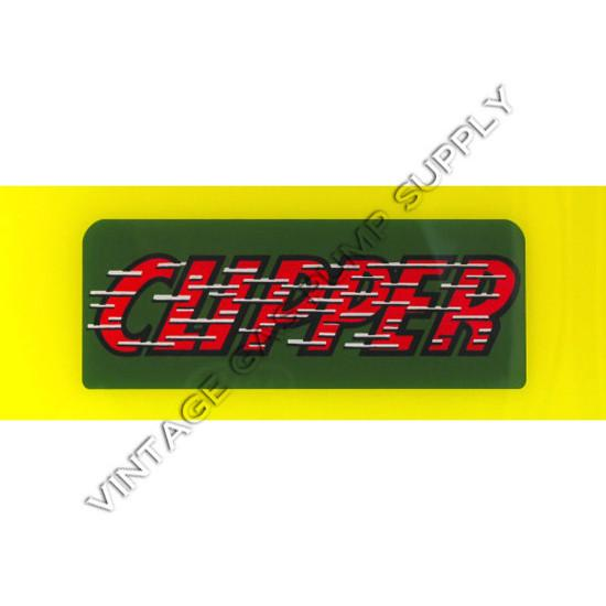 Clipper Flat Ad Glass