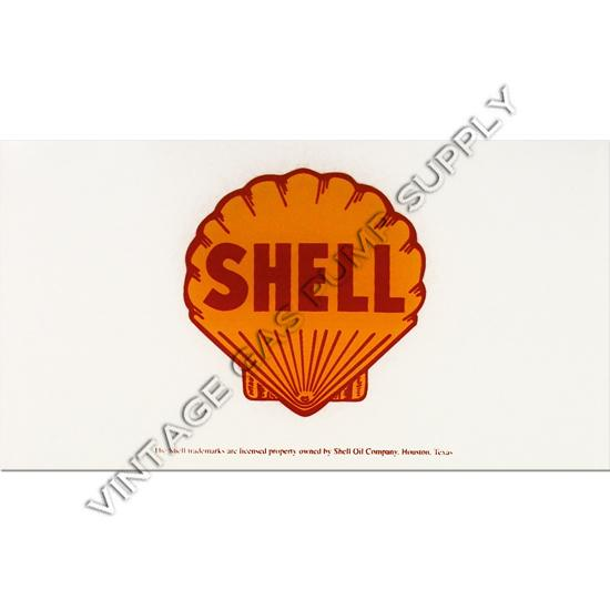Shell A-62 Ad Glass