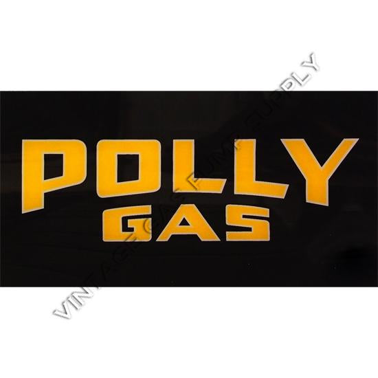 Polly Gas A-62 Ad Glass