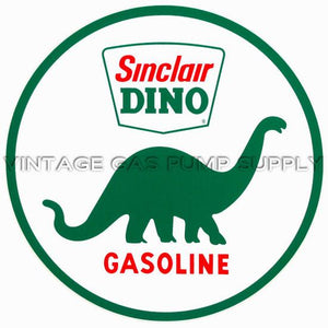 "9"" Sinclair Dino Vinyl Decal"