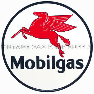 "9"" Mobilgas Vinyl Decal"
