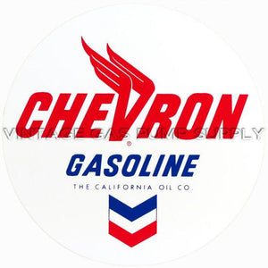 "12"" Chevron Round Vinyl Decal"