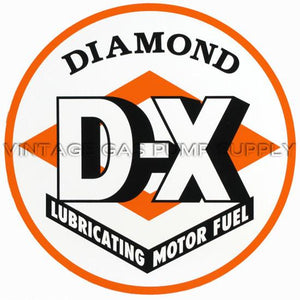 "12"" DX (Orange) Vinyl Decal"