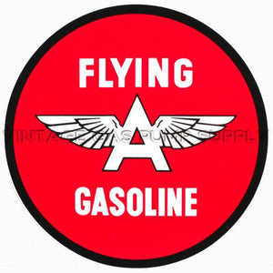 "2"" Flying A Vinyl Decal"
