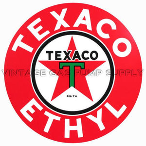 "2"" Texaco Ethyl Vinyl Decal"