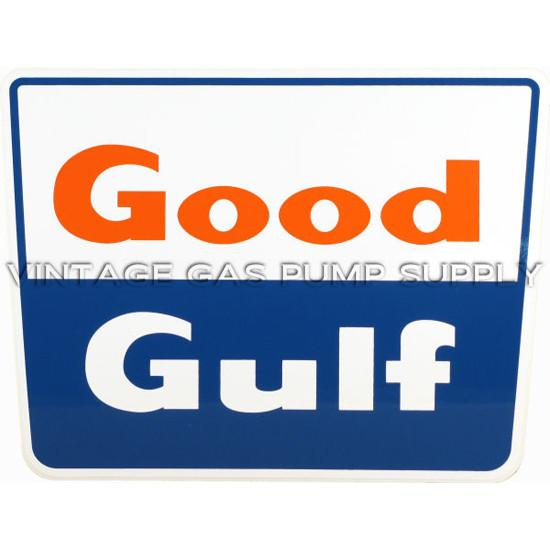Good Gulf Square Vinyl Decal
