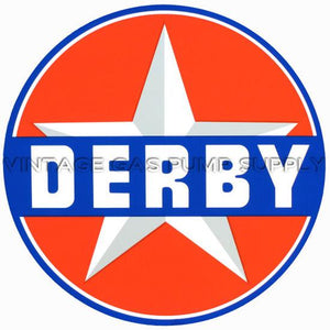 "12"" Derby Vinyl Decal"