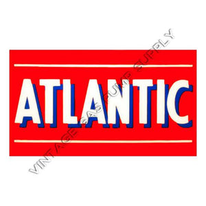 "6.75""x12"" Atlantic Bar Vinyl Decal"