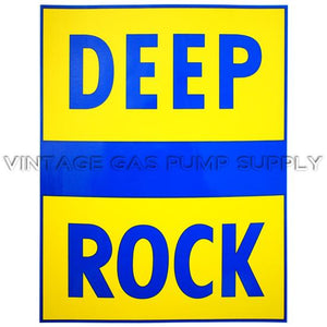 "10""x12.75"" Deep Rock Vinyl Decal"