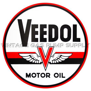 "9"" Veedol Motor Oil Vinyl Decal"