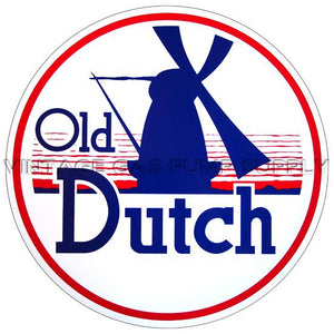 "12"" Old Dutch Vinyl Decal"