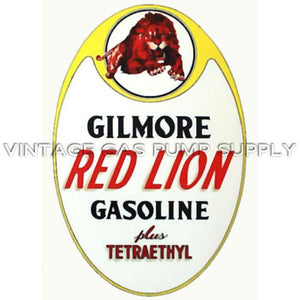 "18"" Gilmore Red Lion Water Transfer Decal"