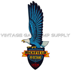 "22.5"" Richfield Hi Octane Tall Eagle Water Transfer Decal"
