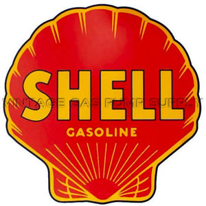 "12"" Shell Gasoline Water Transfer Decal"