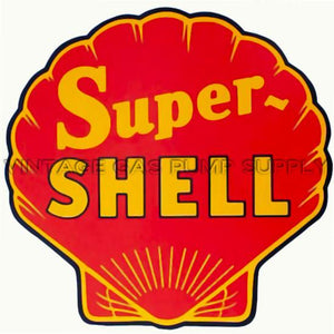 "12"" Super Shell Water Transfer Decal"